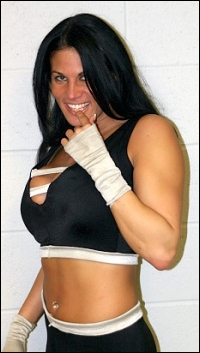 Stephanie bellars is a professional wrestling valet and the former girlfriend of macho man randy savage